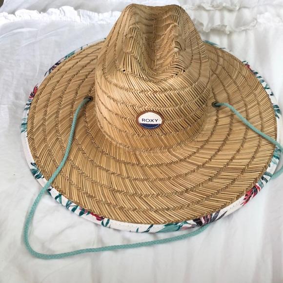 dd03959fb77a91 Roxy Accessories | Womens Tomboy Printed Straw Hat | Poshmark